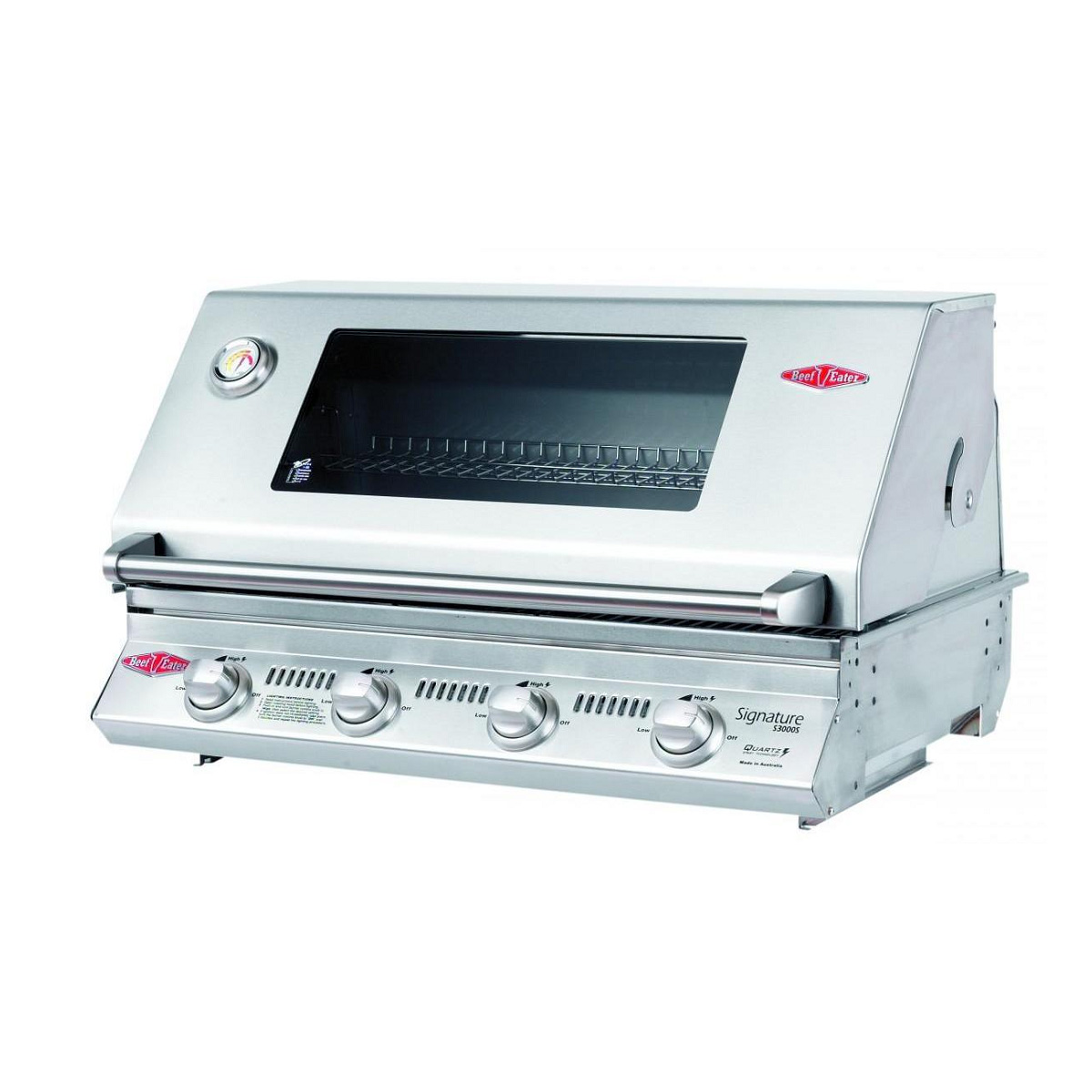 Beefeater 4 Burner Signature 3000SS Built In BBQ 12840SS