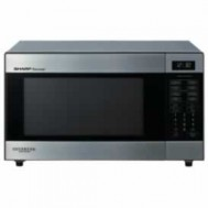 Sharp R395YS Stainless Steel Inverter Microwave 1200W