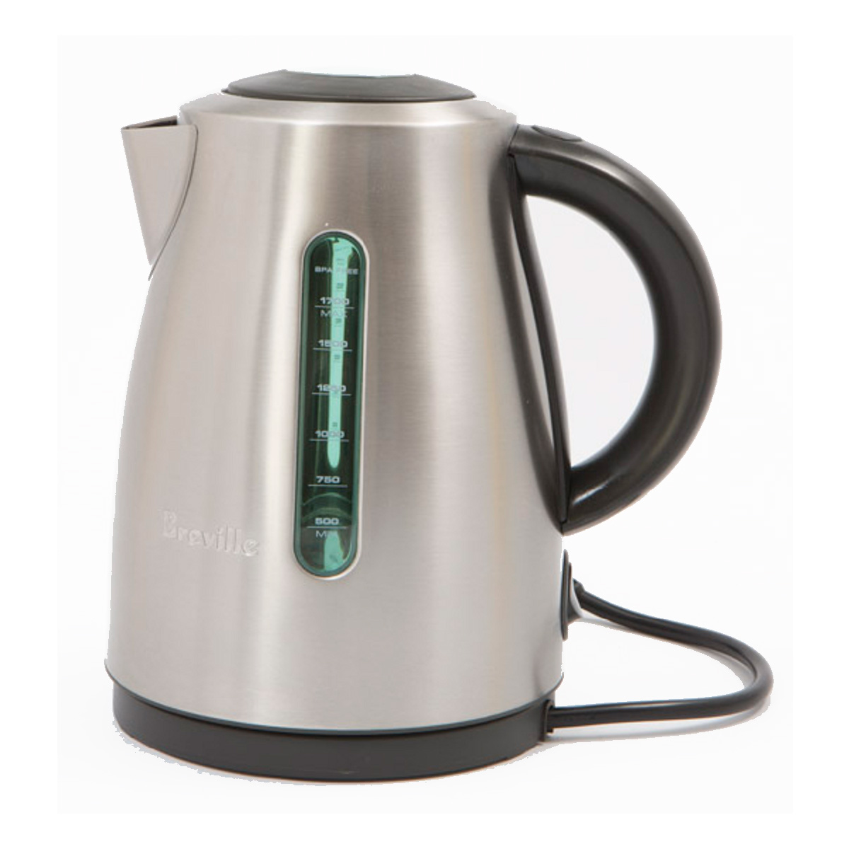 Breville 1.7L Soft Top Clear Kettle BKE495