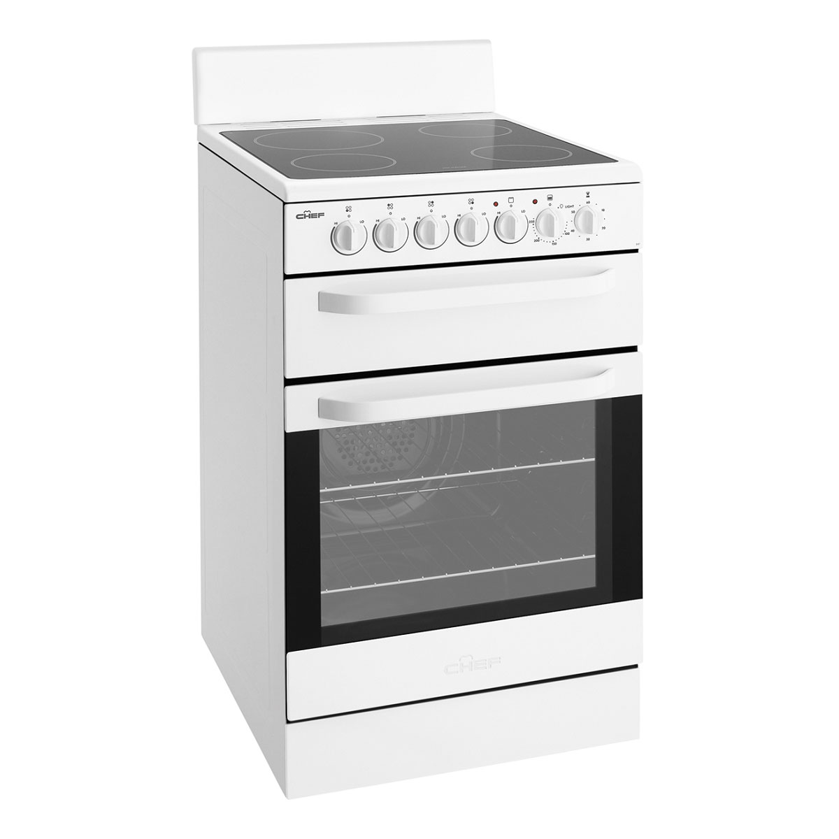 Chef CFE547WA Freestanding Electric Oven/Stove