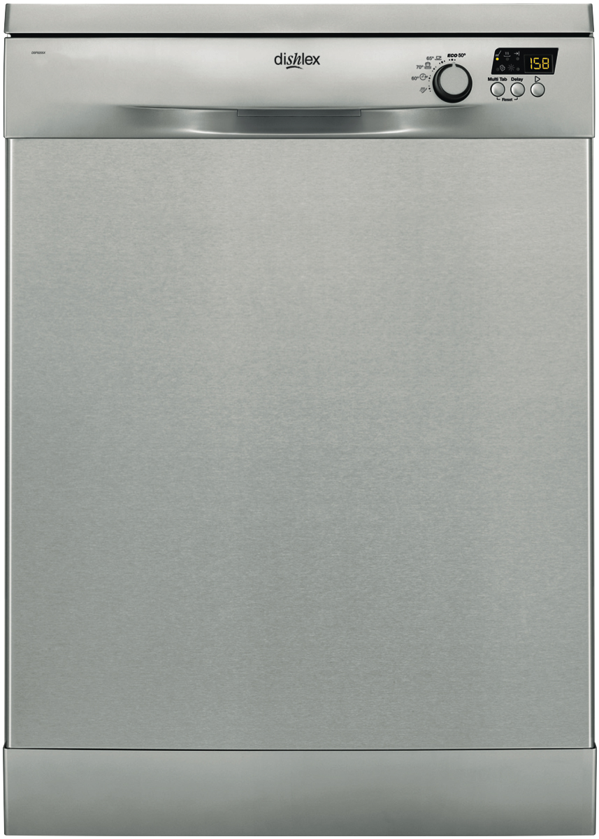Dishlex Freestanding Stainless Steel Dishwasher DSF6205X