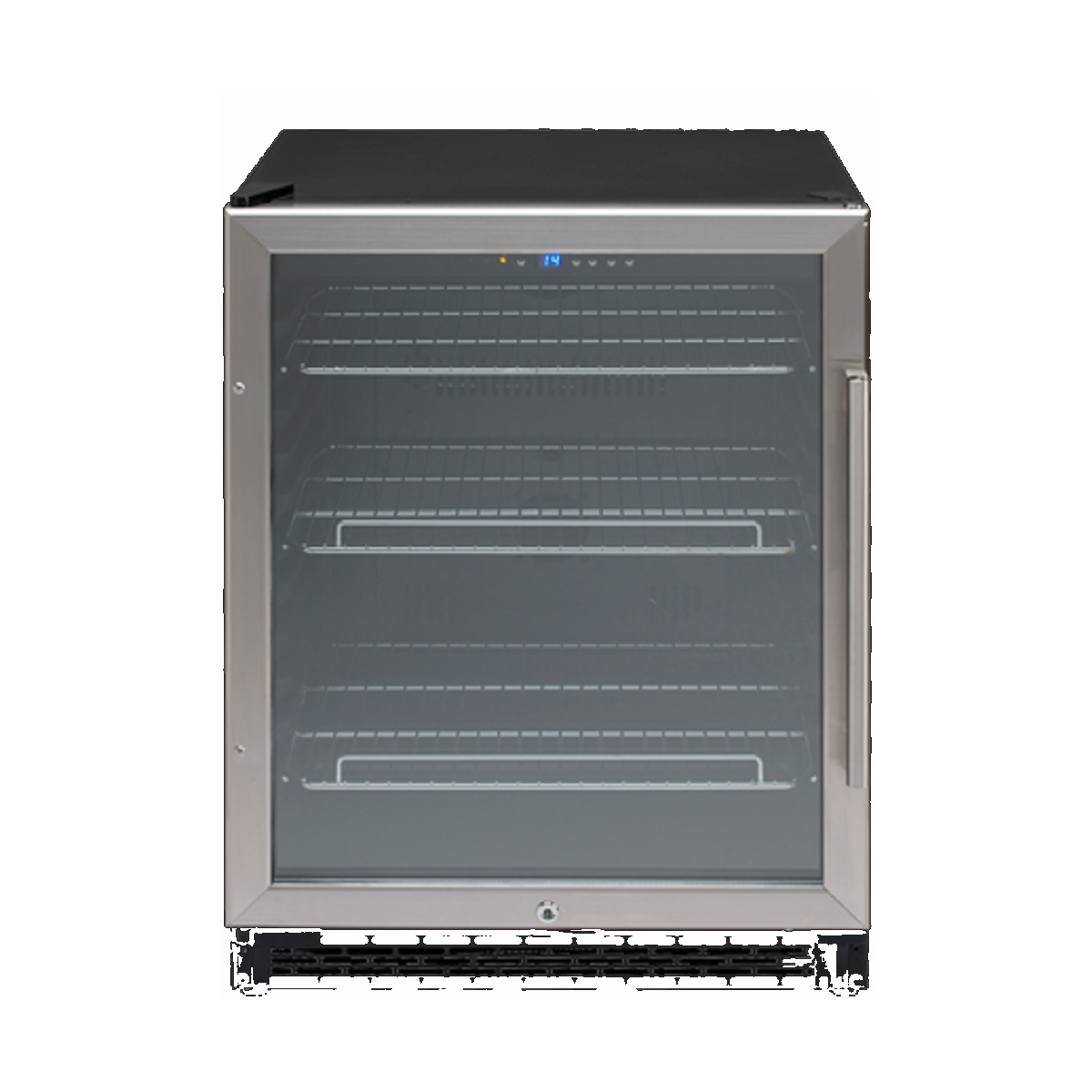 Euro Appliances EBC600SX1 154L Bar Fridge 23518