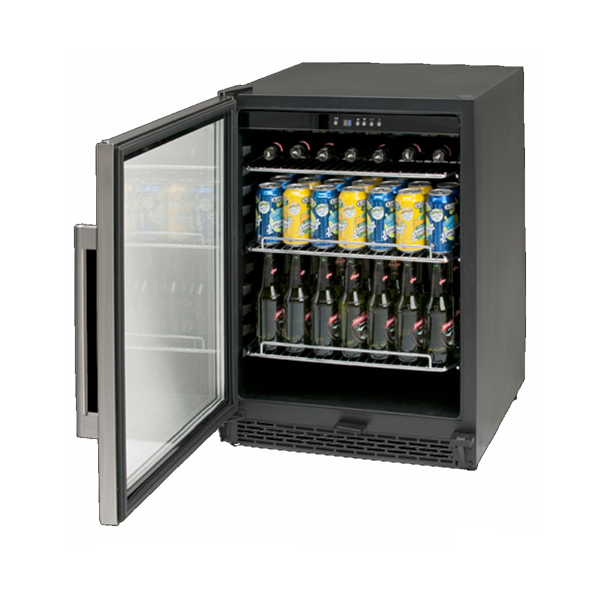 euro bar fridge ebc600sx home clearance