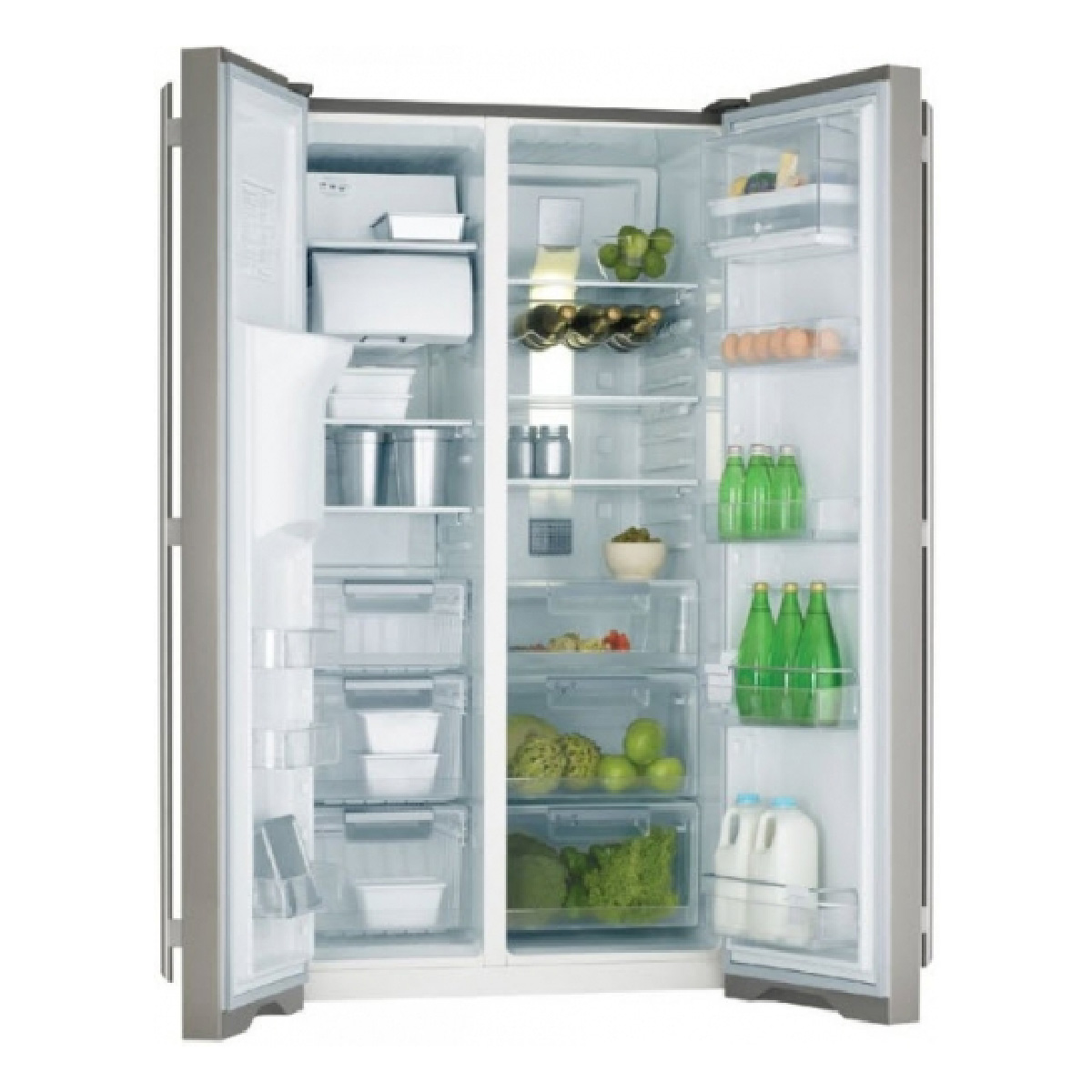 Electrolux ESE6077SG 600L Side by Side Fridge 23126
