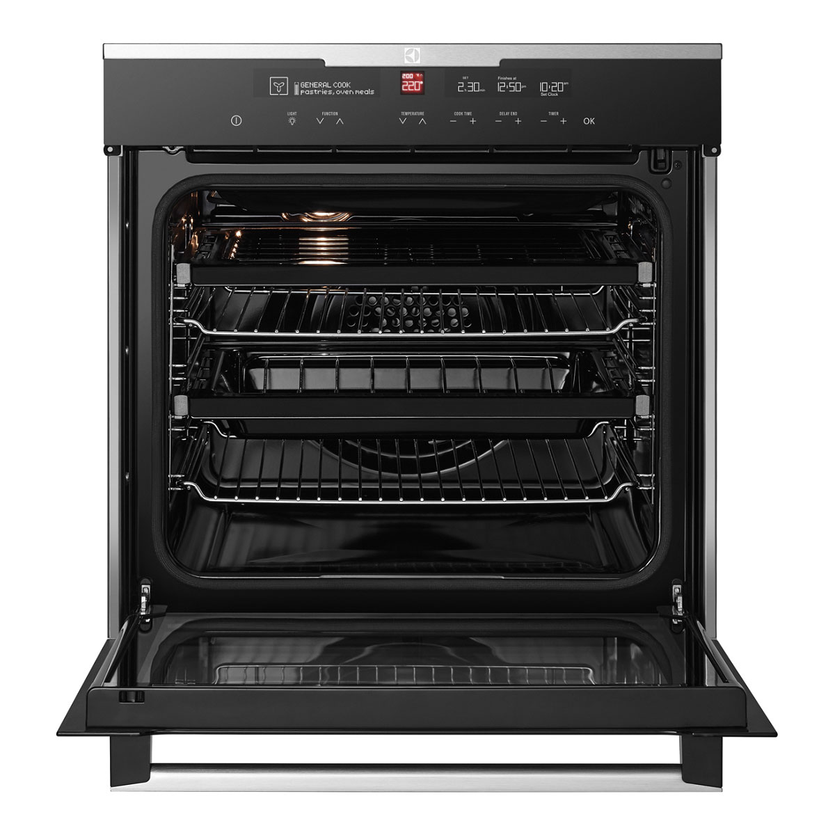 Electrolux EVEP616BB 60cm Pyrolytic Wall Oven 27784
