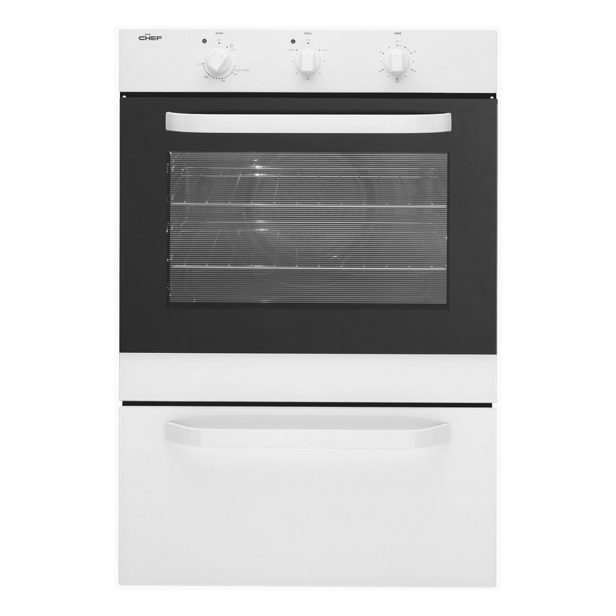 Chef EXC617W Electric Wall Oven 26938