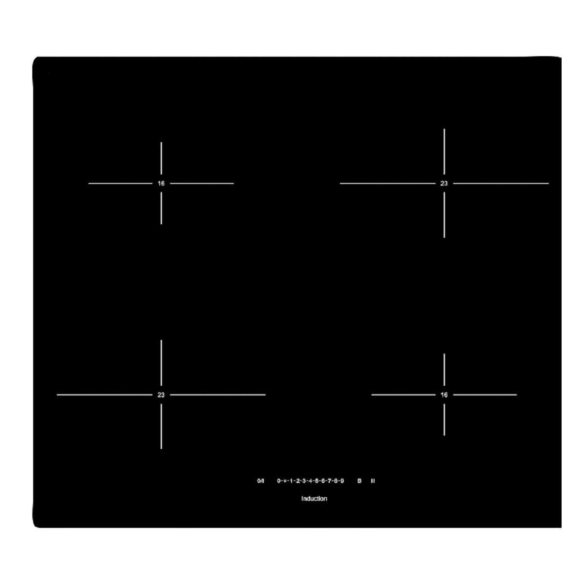 Smeg SIHP264S 590mm Induction Cooktop