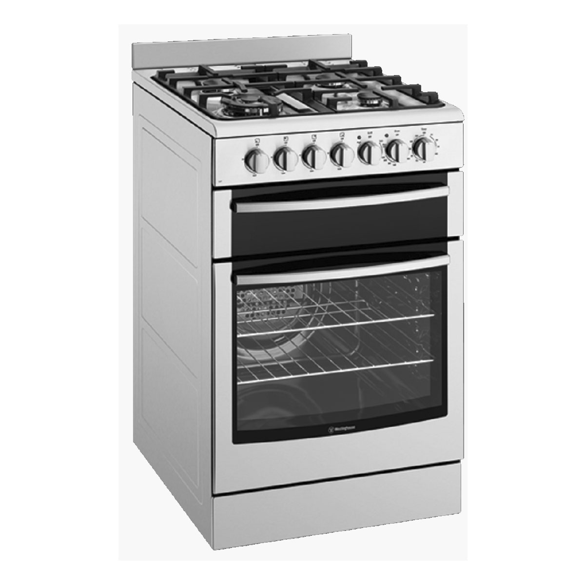 Westinghouse Kitchen Appliances Westinghouse Wfe517sa Freestanding Dual Fuel Oven Stove Home