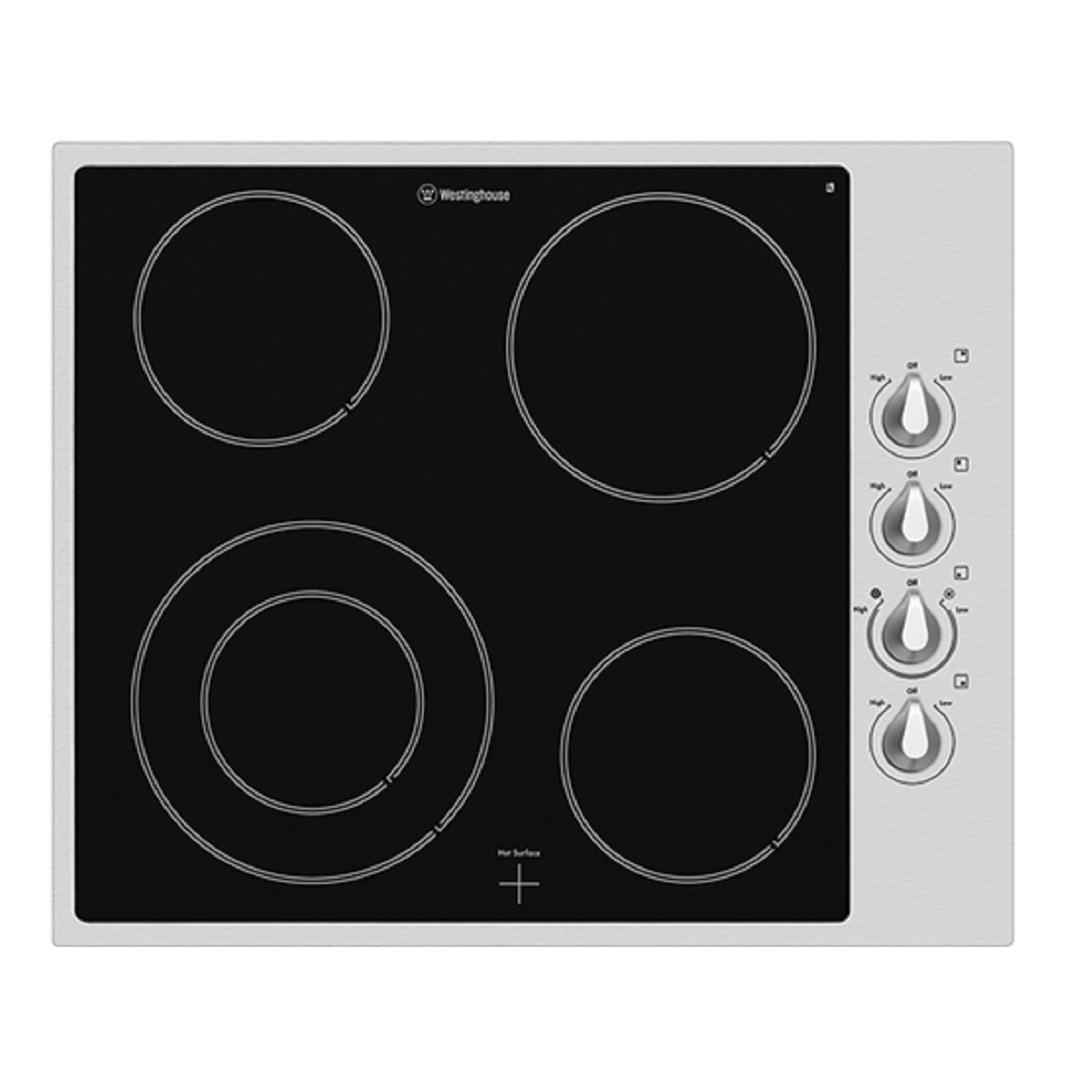 Westinghouse WHC644SA Ceramic Cooktop