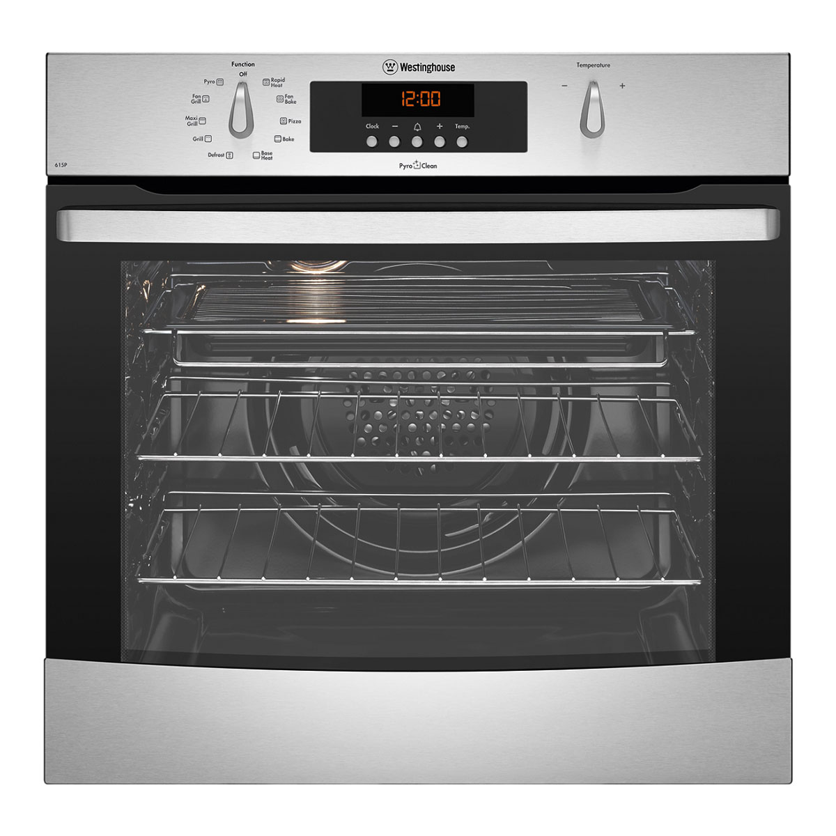 Westinghouse WVEP615S Pyrolytic Built-In Oven