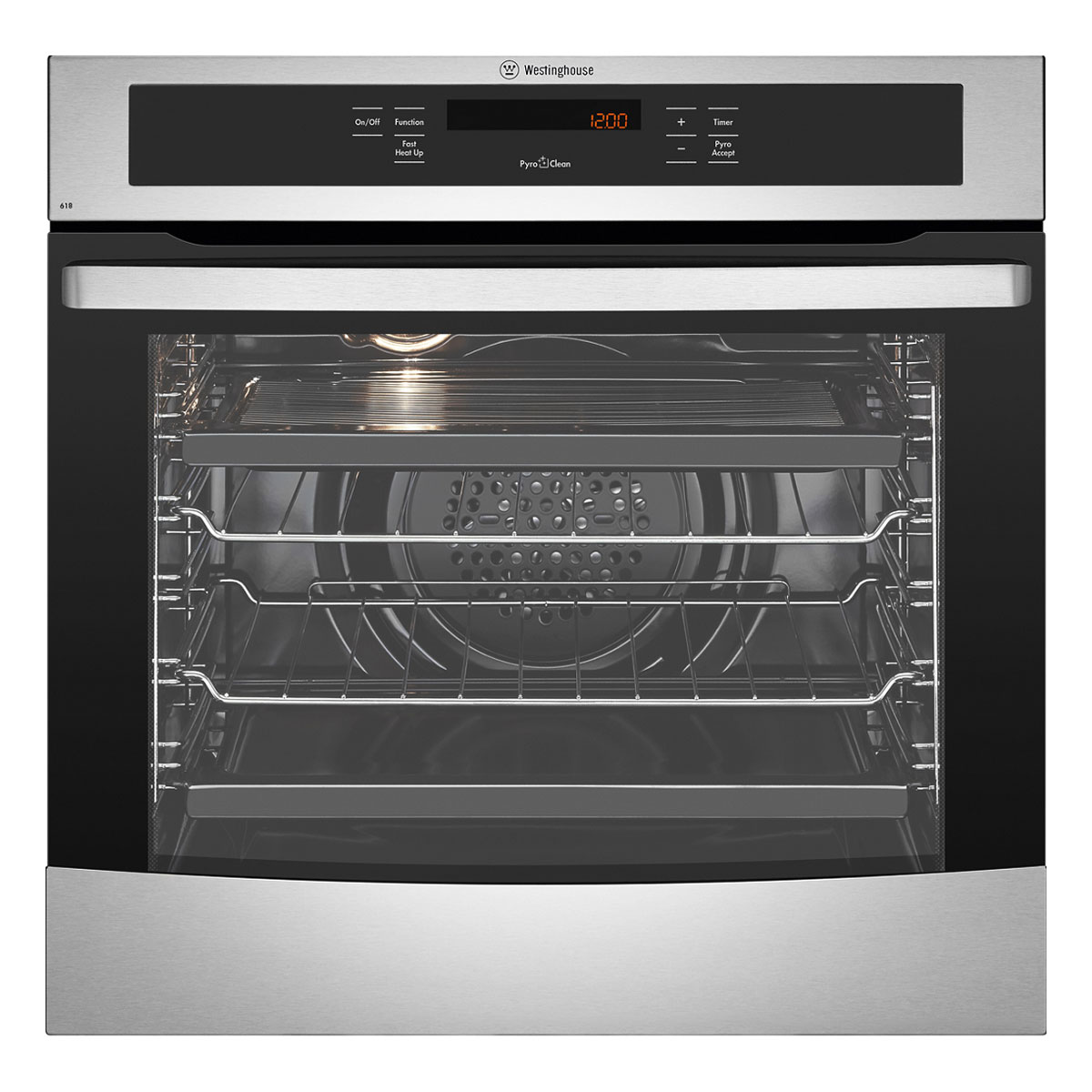 Westinghouse WVEP618S Pyrolytic Built-In Oven 27705