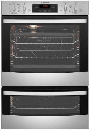 Westinghouse WVE626S 60cm Multi-function Duo Built-In Oven 44441
