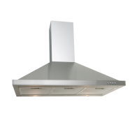 Euro Appliances 90cm Stainless Steel Canopy Rangehood EA90SX