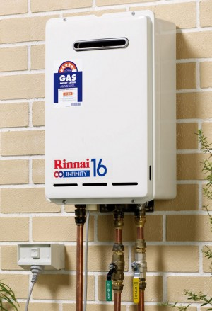 Rinnai B16N50 Natural Gas Continuous Flow Hot Water System 5797