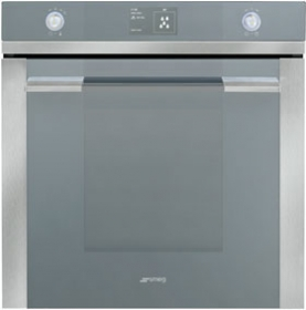 Smeg SFPA130 60cm Thermoseal Multifunction Pyrolytic Electric Wall Oven 6043