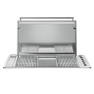 Smeg BIBQ1205AF Built-In Barbecue with Flat Lid