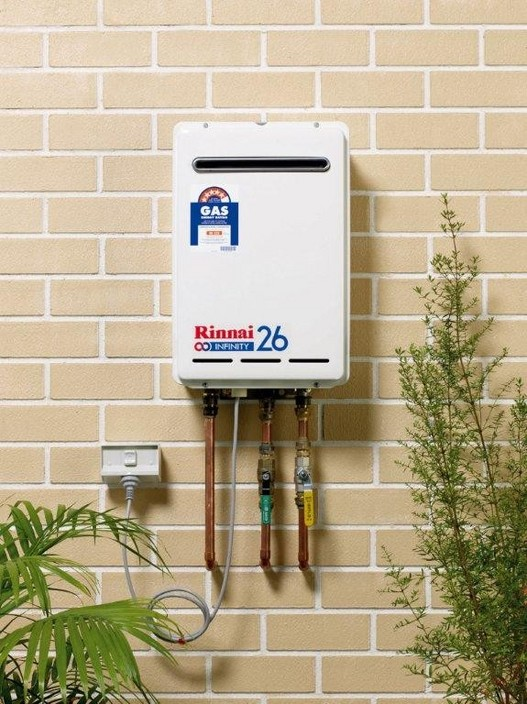 how to turn on gas hot water system