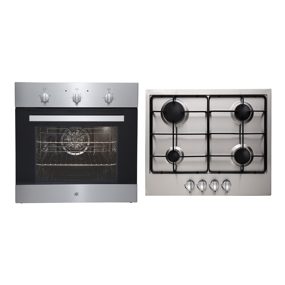 Arc ACPG Electric Oven & Natural Gas Cooktop Pack