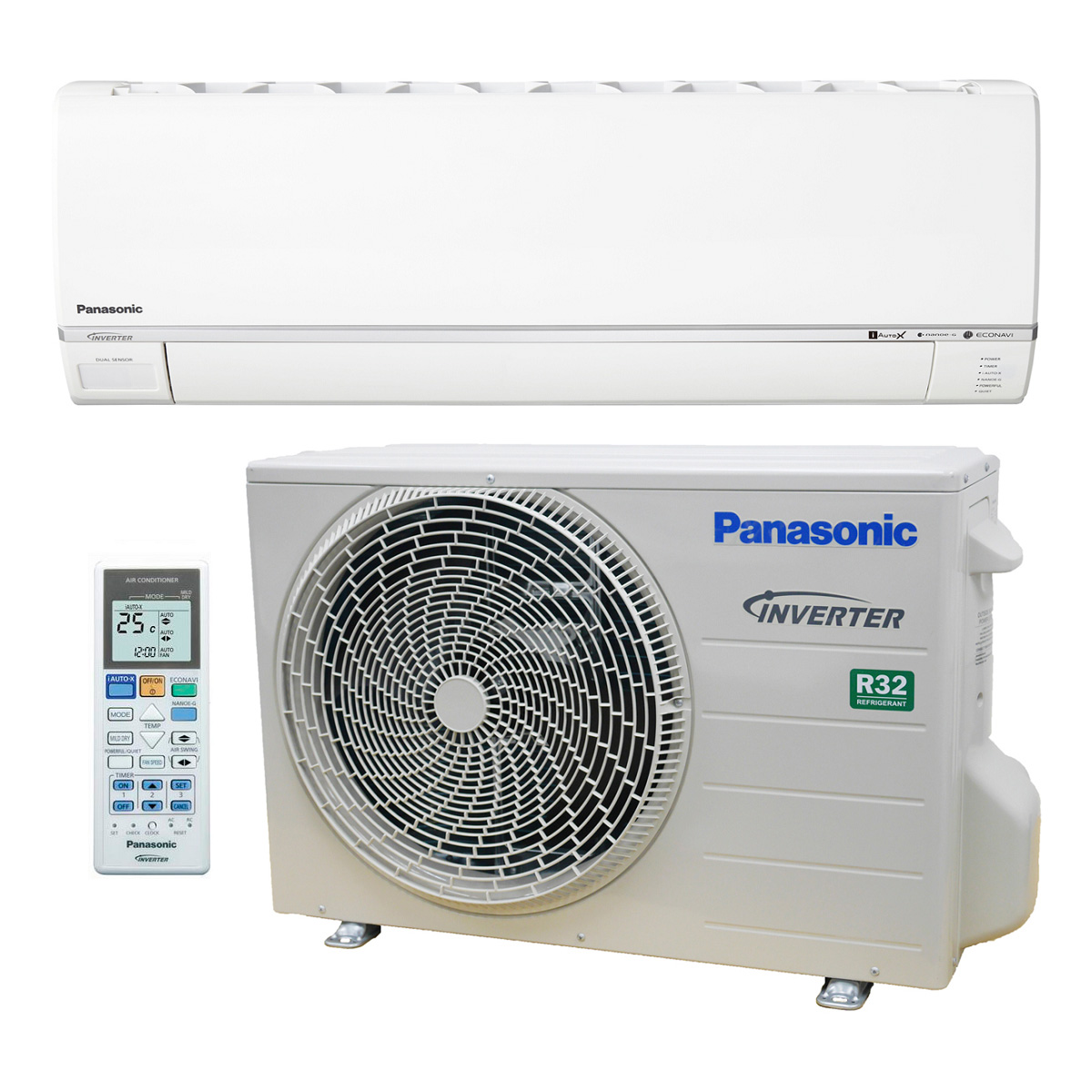 how to clean a panasonic split system air conditioner