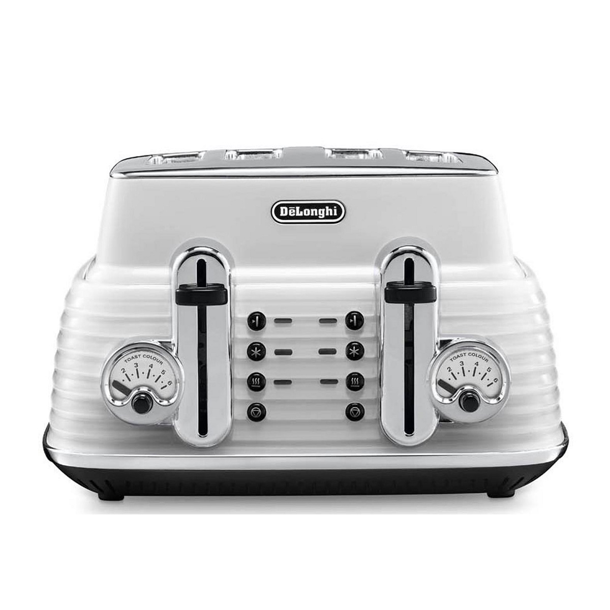 Delonghi Ctz4003w Scultura 4 Slice Toaster Home Clearance