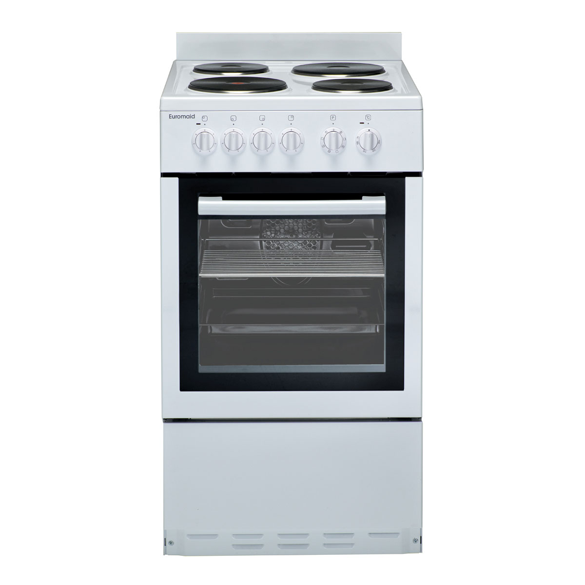 Euromaid EW50 Freestanding Electric Oven/Stove White - Up to 60% Off