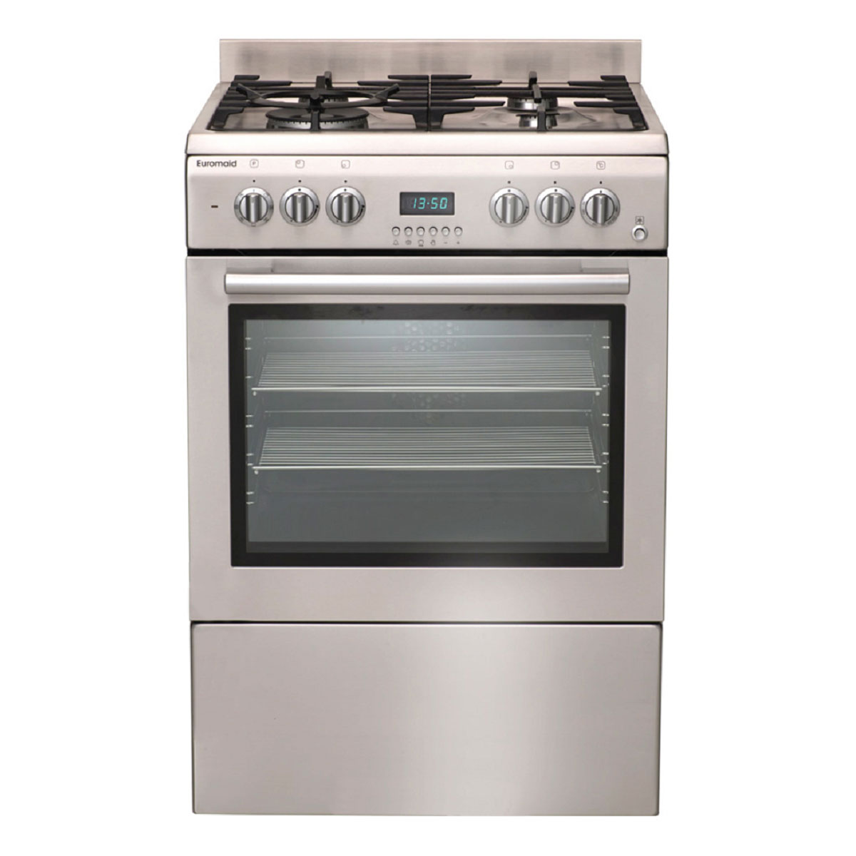 Euromaid GTEOS60 Freestanding Dual Fuel Oven/Stove
