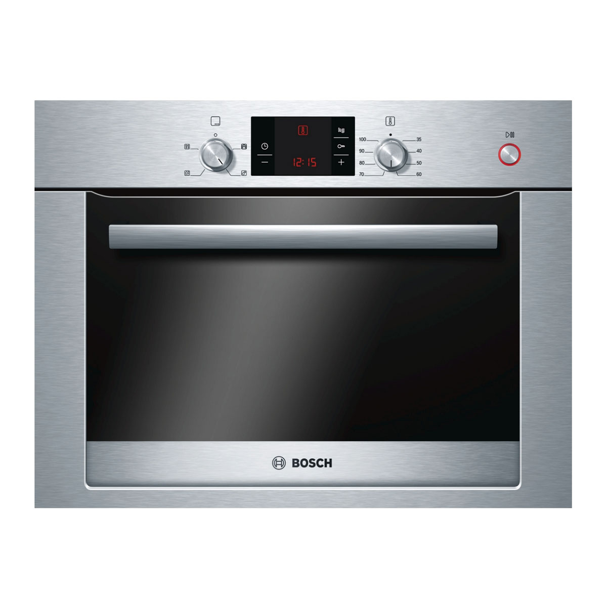 Bosch HBC24D553BBT2 Exxcel Compact Steam Oven in Stainless Steel
