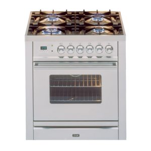 Freestanding Ilve Dual Fuel Oven/Stove PW70MP