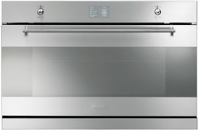 Smeg SAP3900X 90cm Built-In Pyrolytic Oven