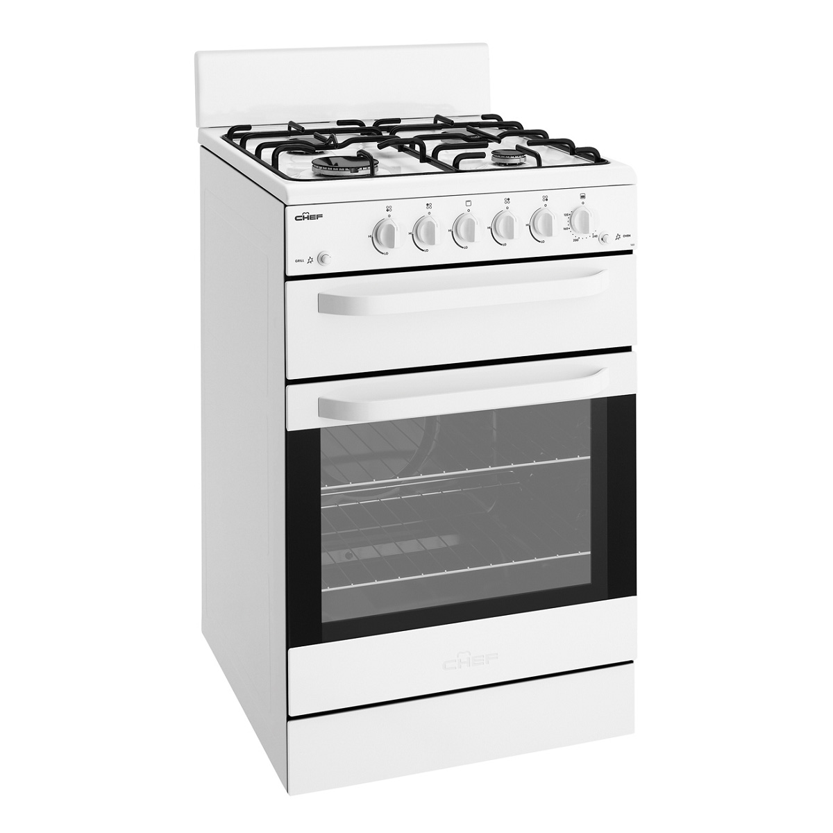 Chef CFG503WALP Freestanding Gas Oven/Stove