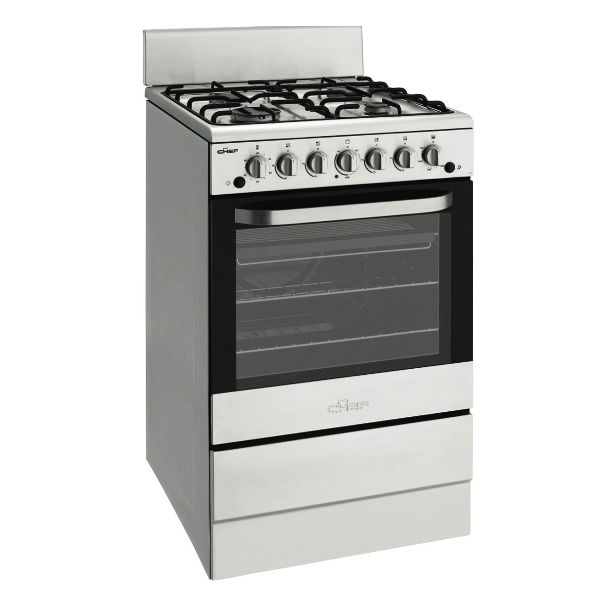 Chef CFG504SALP Freestanding Gas Oven Stove