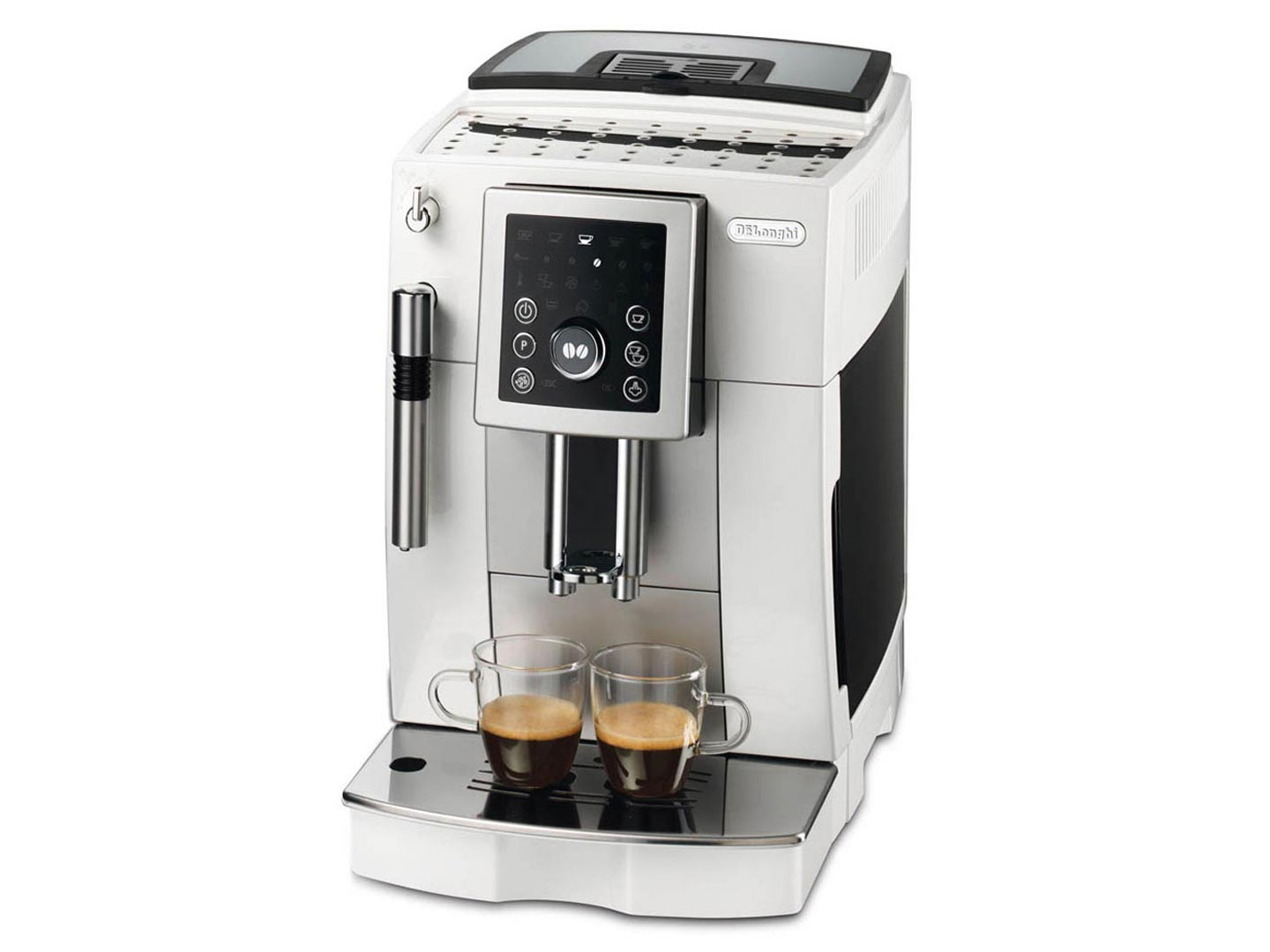 delonghi coffee machine ecam23210w home clearance. Black Bedroom Furniture Sets. Home Design Ideas