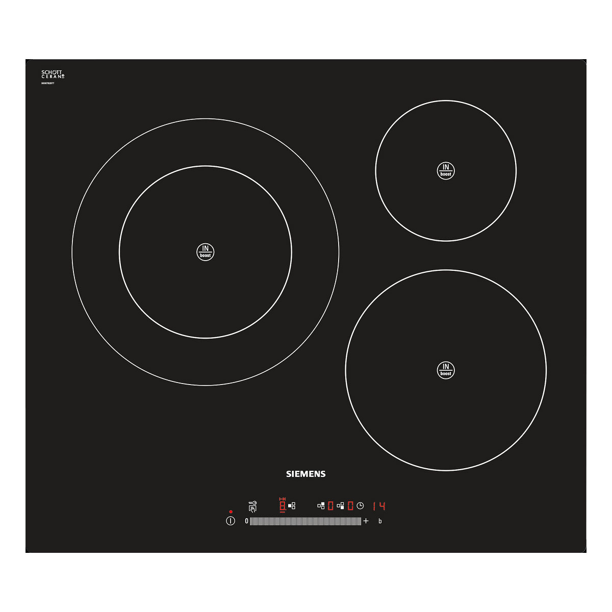 Siemens Induction Cooktops EH611FK17E