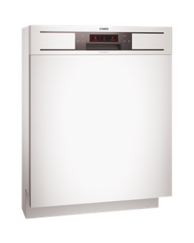 AEG Semi Integrated Dishwasher F990151MOP