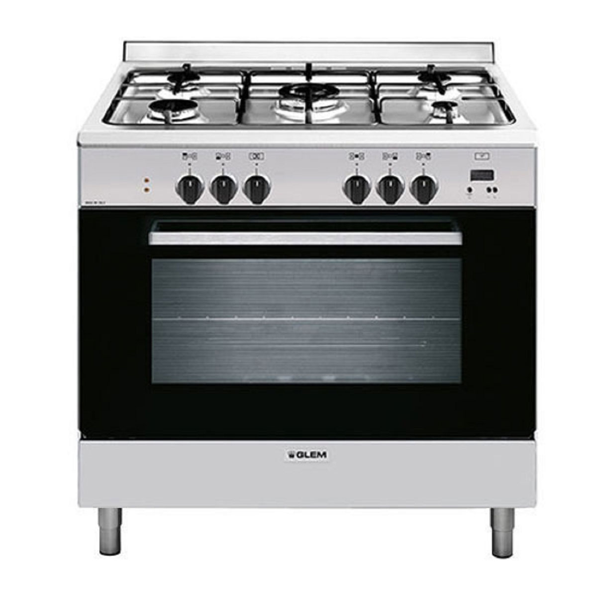 Glem GL965EI Freestanding Dual Fuel Oven/Stove
