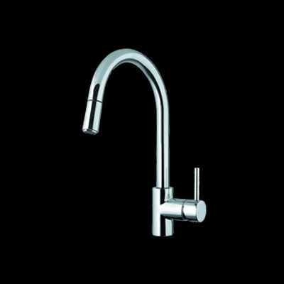 Abey SK5 Lucia Pull Out Kitchen Mixer Dual Spray Tap