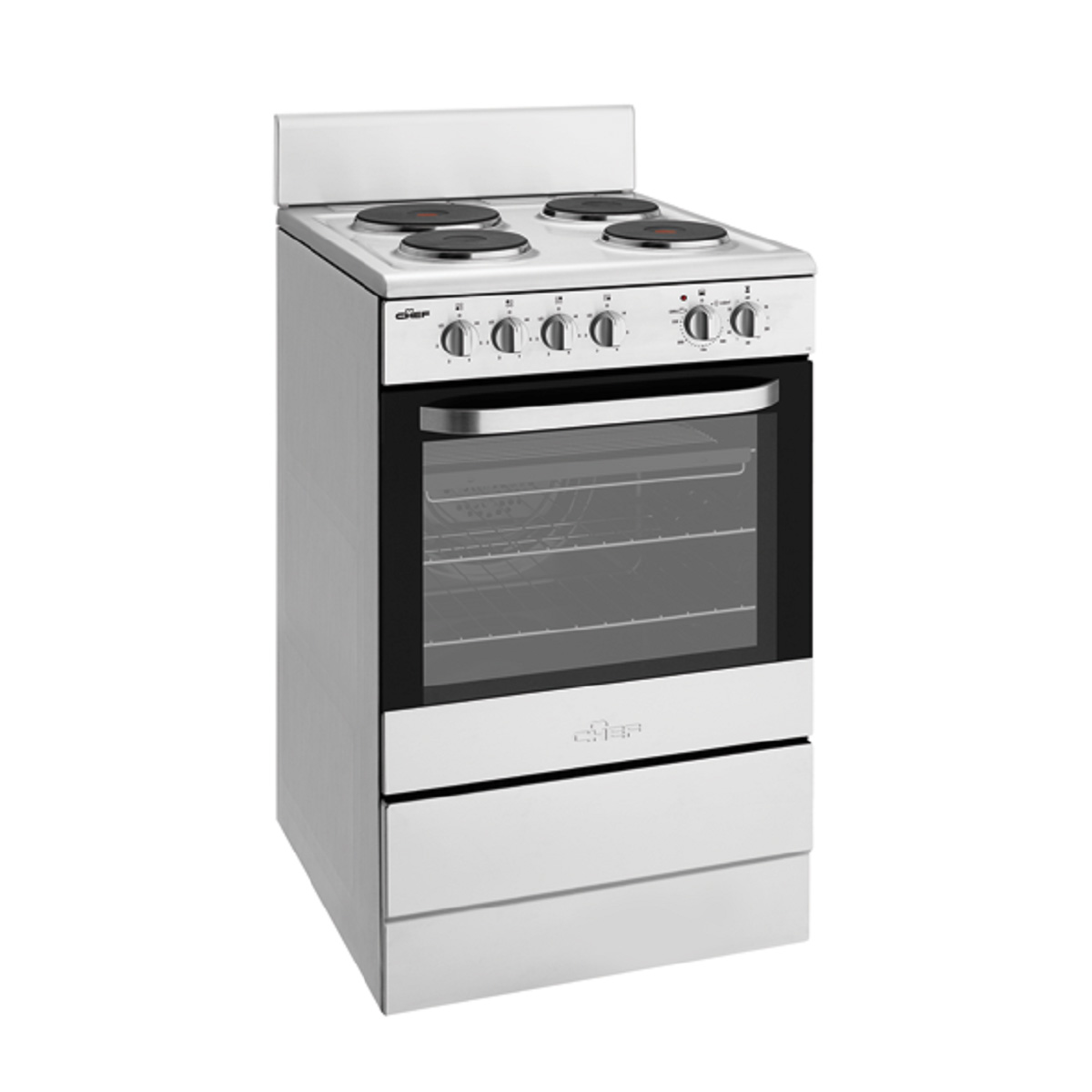 Chef CFE536SA Freestanding Electric Oven/Stove - Up to 60% Off