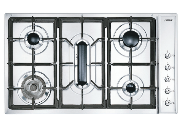 Smeg Gas Cooktop CIR93AXS3