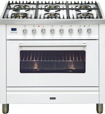 Ilve NT906WVGW Freestanding Gas Oven/Stove