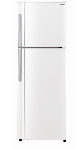 Sharp SJ308VWH 308L Top Mount Fridge