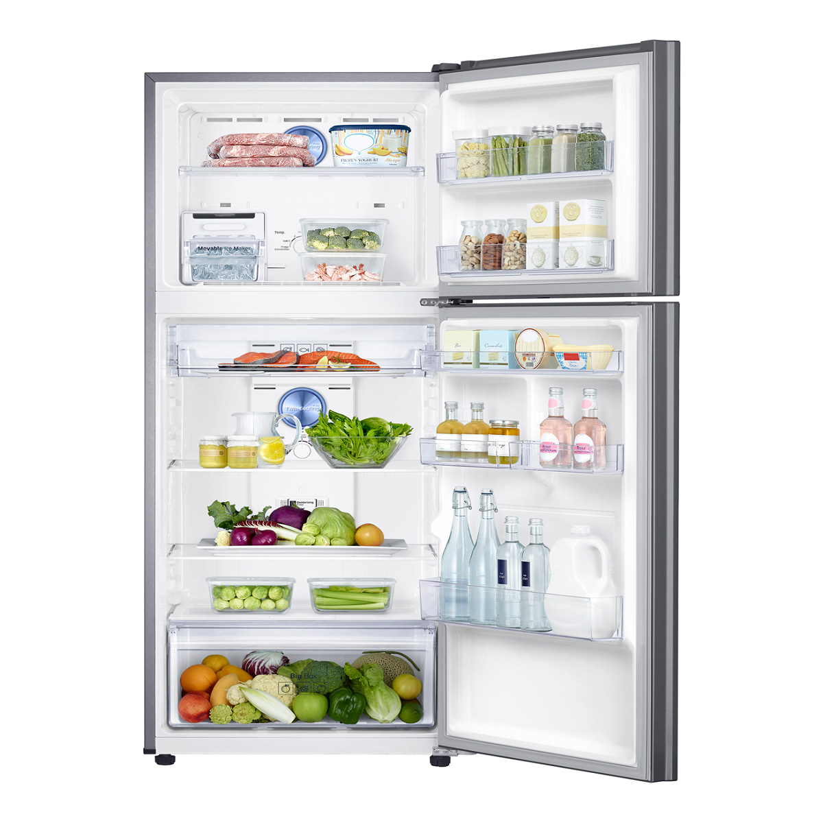 Samsung SR400LSTC 400Litres Top Mount Fridge with Twin Cooling Plus 35617