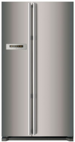 Smeg SR600X 622L Side by Side Fridge