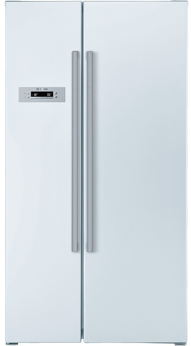 bosch kan62v00au 678l side by side fridge home clearance. Black Bedroom Furniture Sets. Home Design Ideas