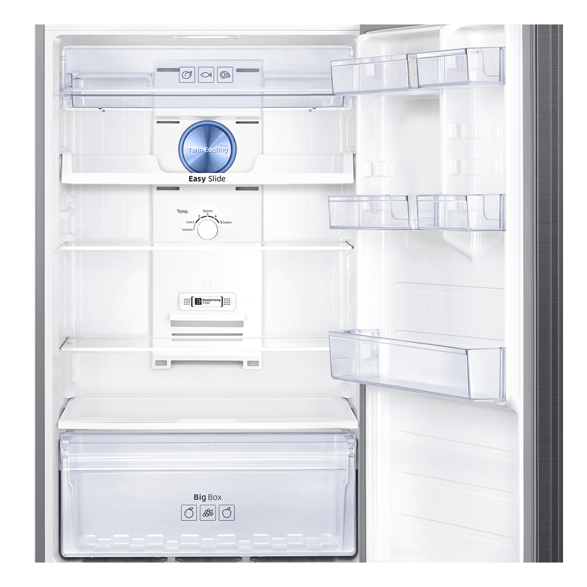 Samsung SR467BTC 471Litres Top Mount Fridge with Twin Cooling Plus 35569