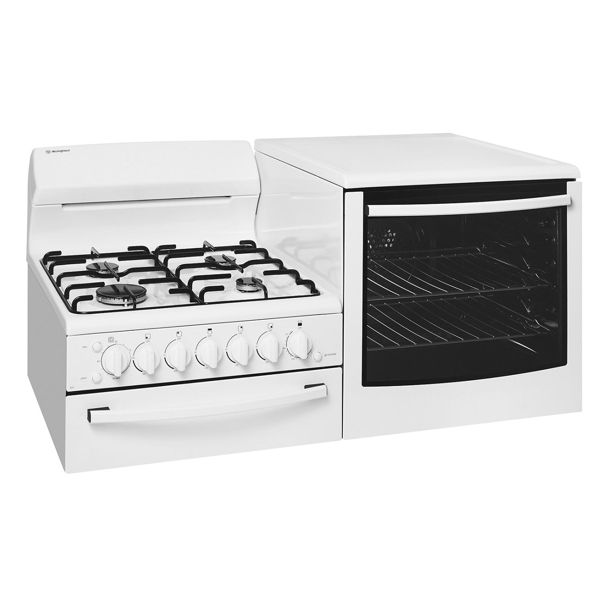 Westinghouse WDG103WA-R Elevated Gas Oven