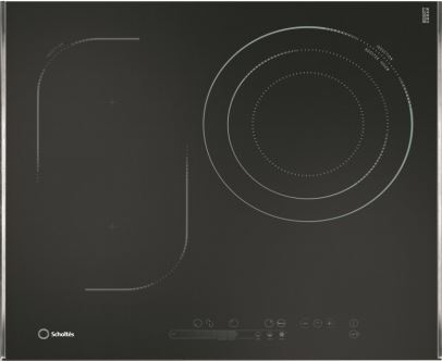 600m/60cm Scholtes Induction Extenso Zone Cooktop TIS621CTL