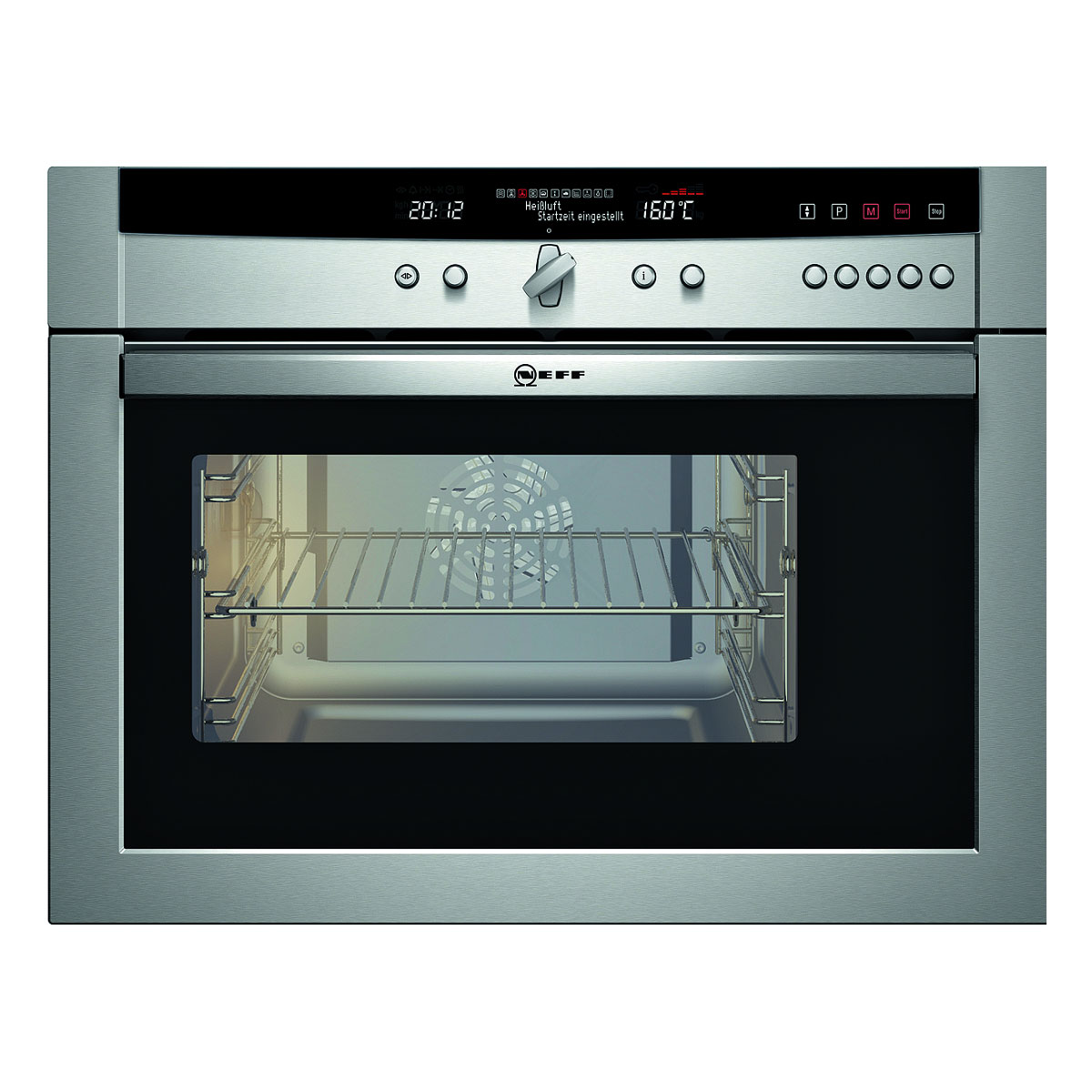 Neff C47C62N3GB CircoSteam Combination Steam Oven
