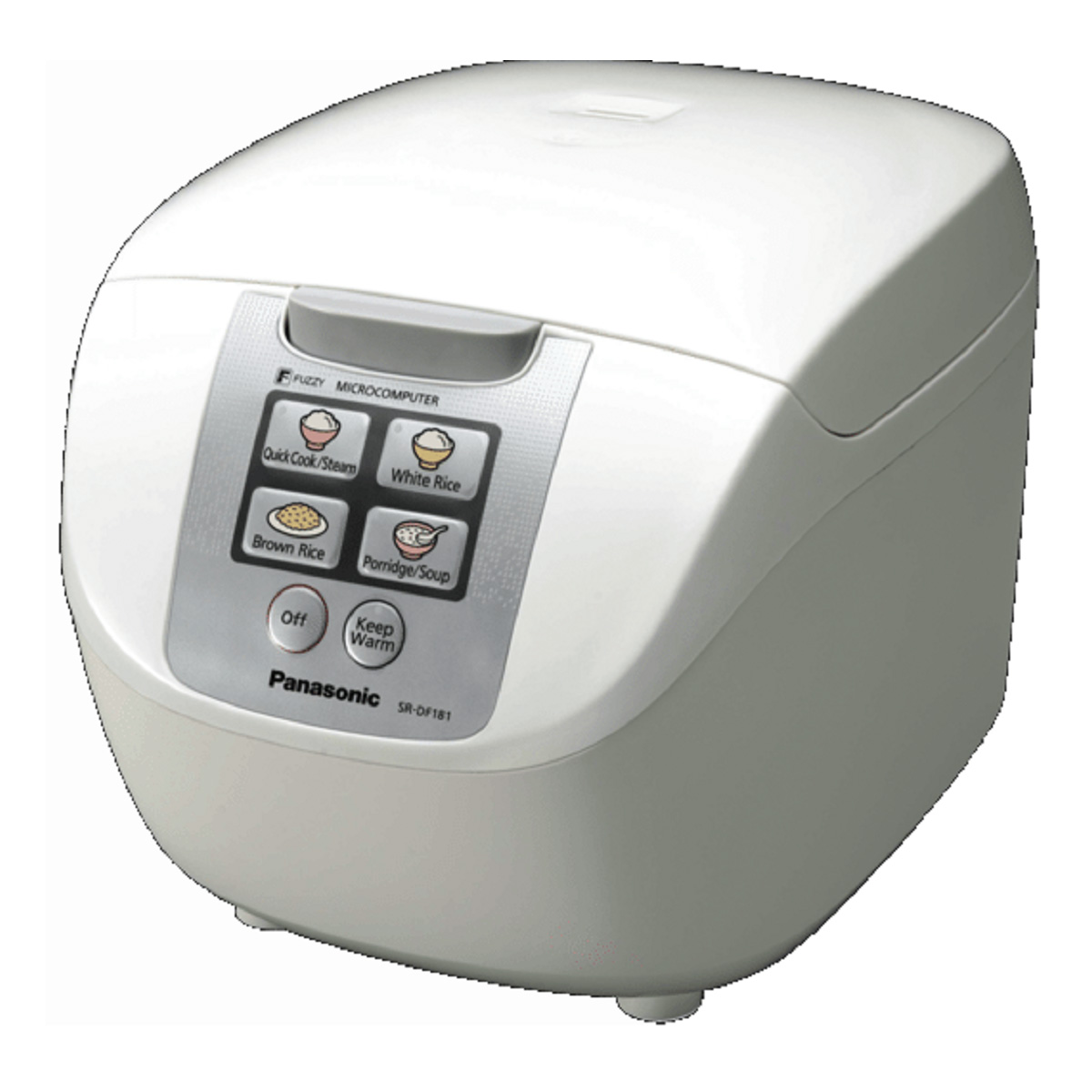 Panasonic Rice Cooker SR-DF181WST