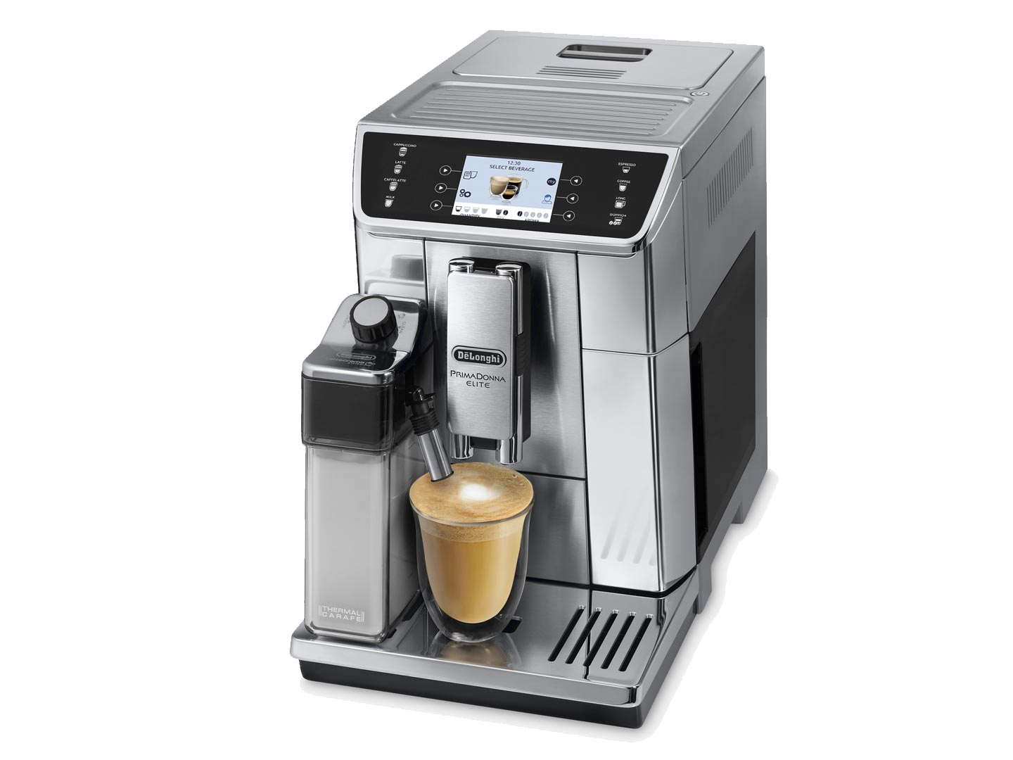 delonghi ecam65055ms coffee machine home clearance. Black Bedroom Furniture Sets. Home Design Ideas