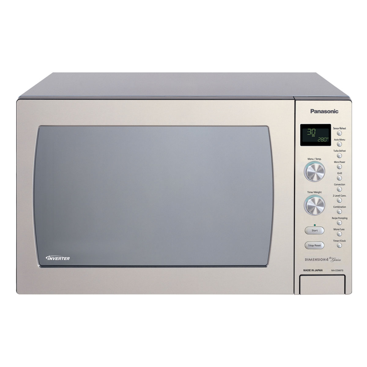Panasonic NNCD997S 42Litres 1000W Convection Microwave 29700